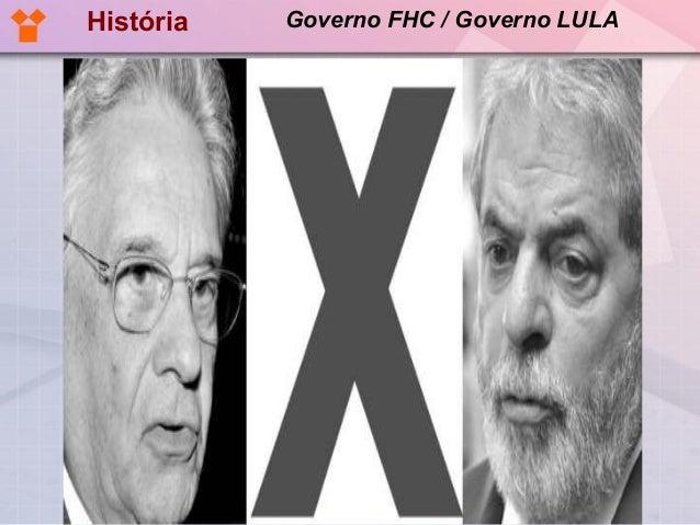 História   Governo FHC / Governo LULA