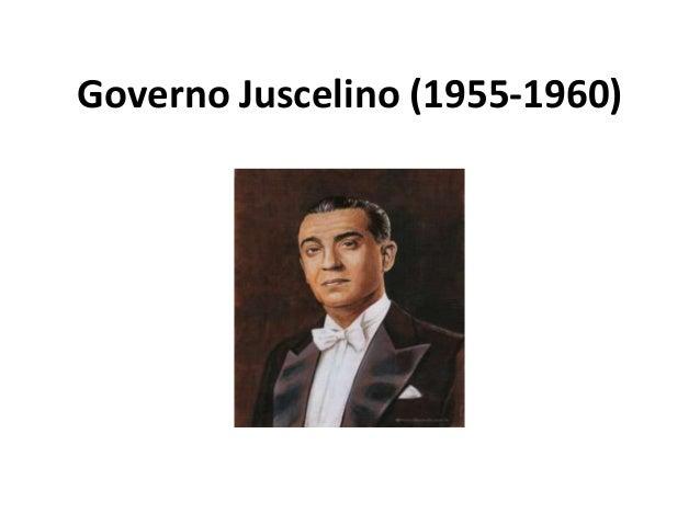 Governo Juscelino (1955-1960)