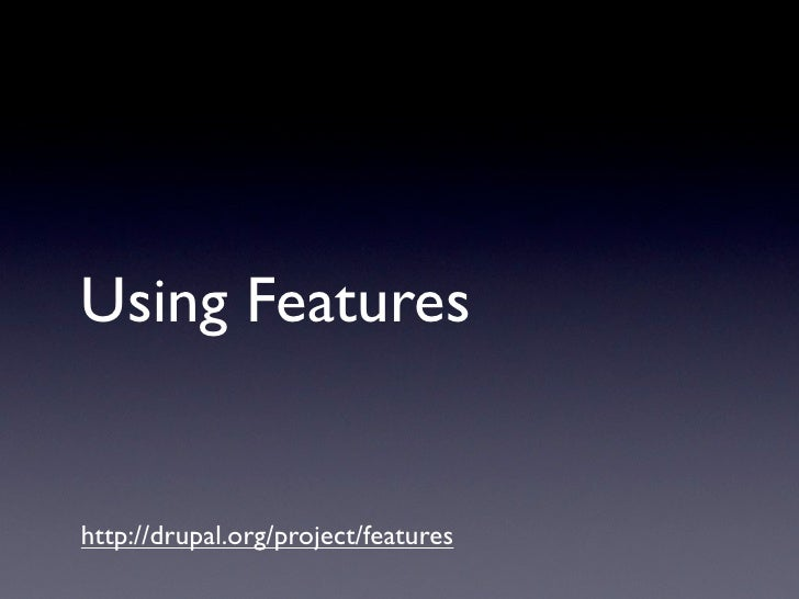 Using Features   http://drupal.org/project/features