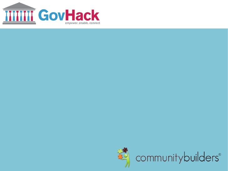 GovHack - myMP by Community Builders