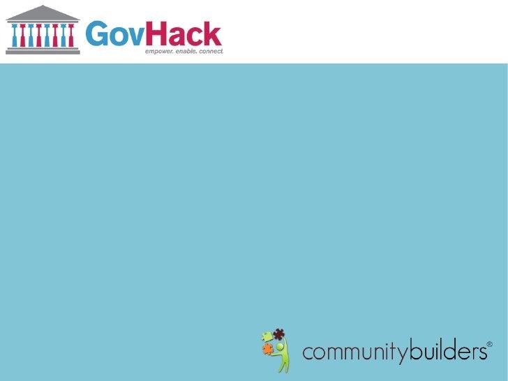 GovHack - myMP by Community Builders