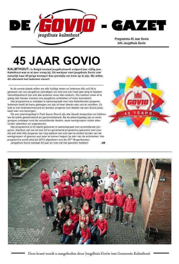 Govio gazet 2011- 2012