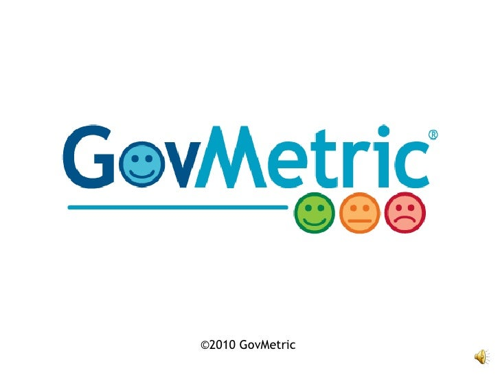 Introduction to GovMetric