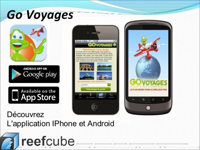Découvrez L'application IPhone et Android Go Voyages