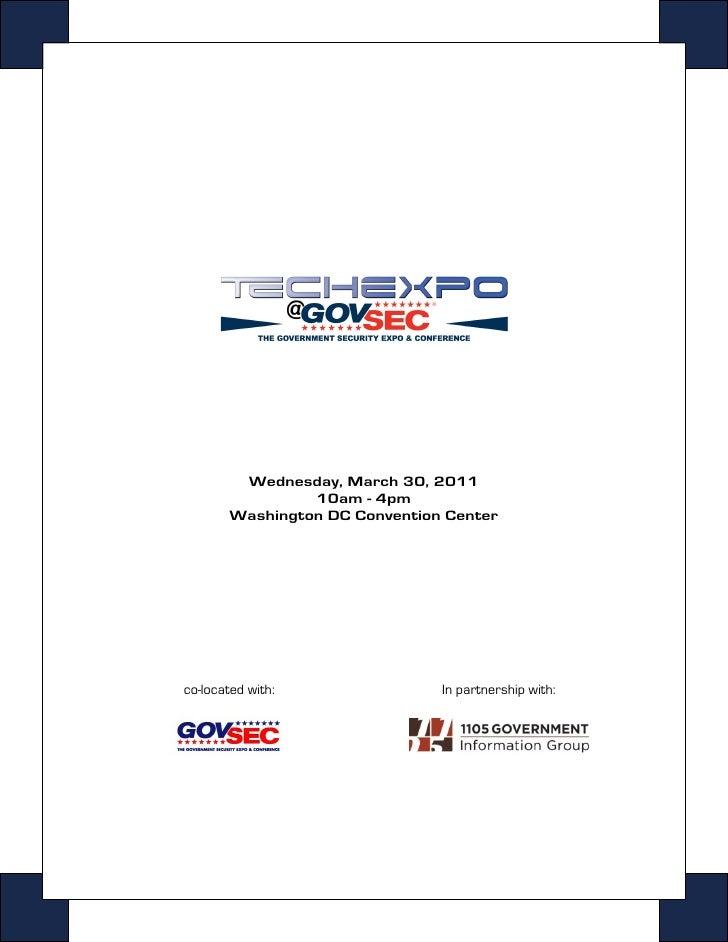 GovSec 2011 - TECHEXPO Cyber Security Hiring Event