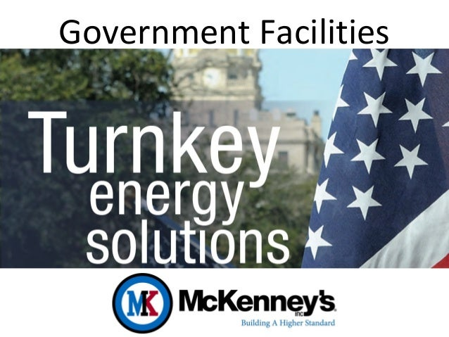 Energy Efficiency in Government Facilities