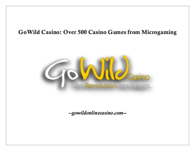 gowild casino login