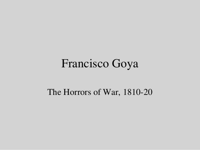 Francisco Goya The Horrors of War, 1810-20