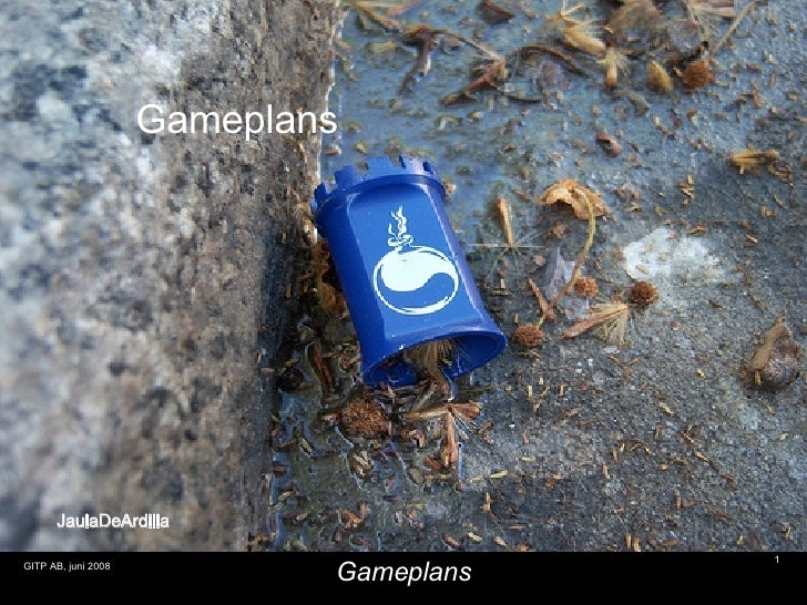 JaulaDeArdilla Gameplans