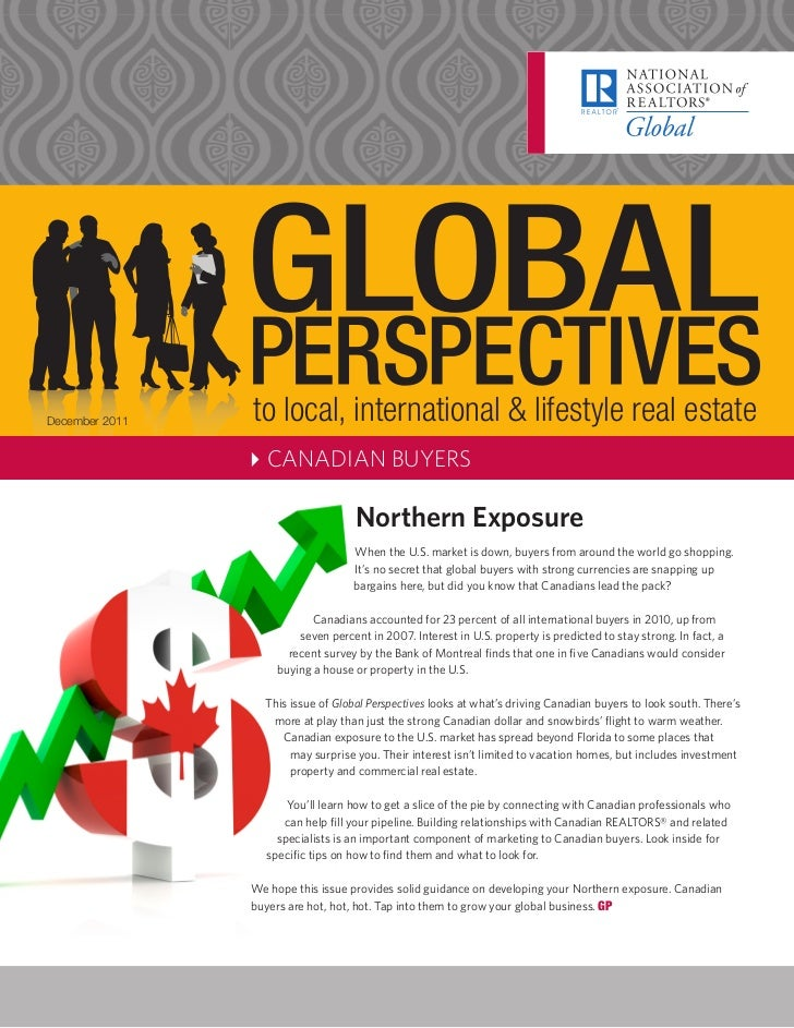 December 2011   to local, international & lifestyle real estate                4CANADIAN BUYERS                           ...