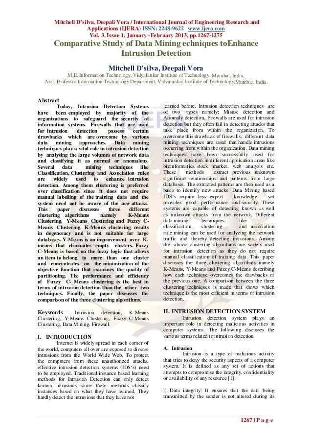 Mitchell D'silva, Deepali Vora / International Journal of Engineering Research and                     Applications (IJERA...
