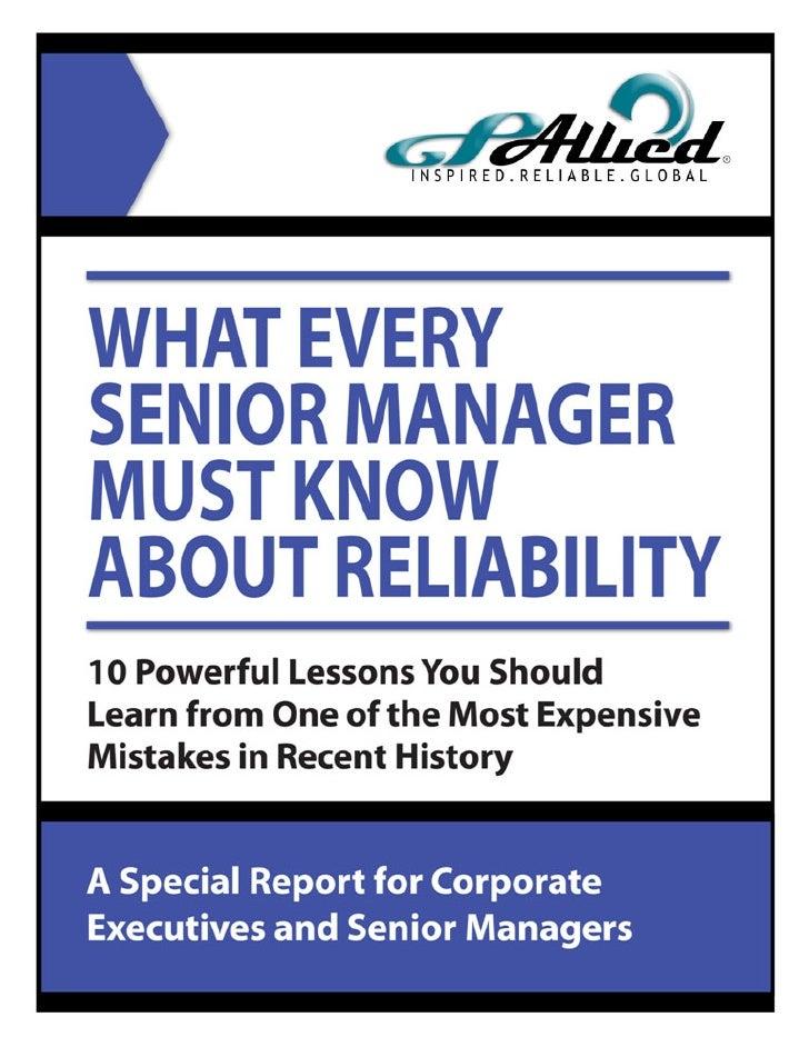 www.alliedreliability.com   Page 1 of 33   ©2006 Allied Reliability, Inc