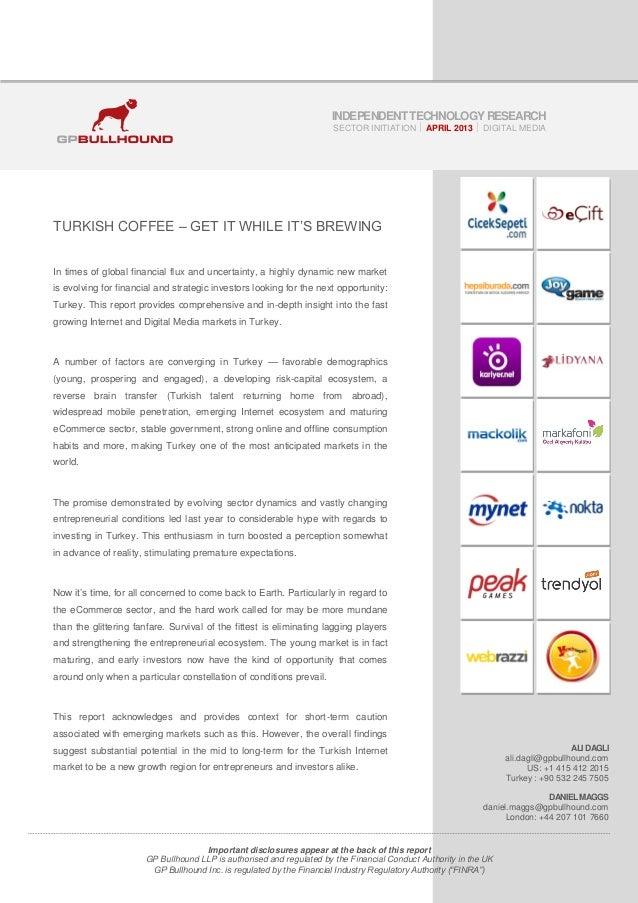 GP Bullhound Turkish Internet Report