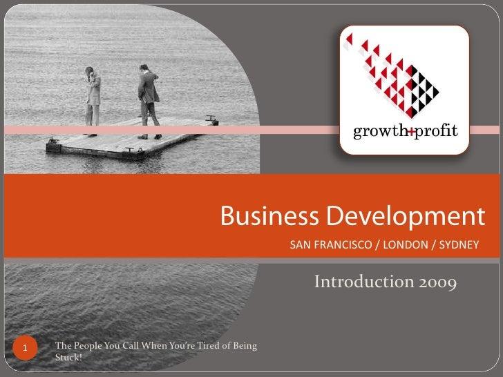 GP Business Development 09
