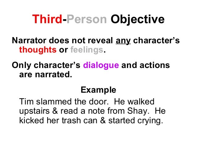 Third Person Omniscient Examples Point of-view