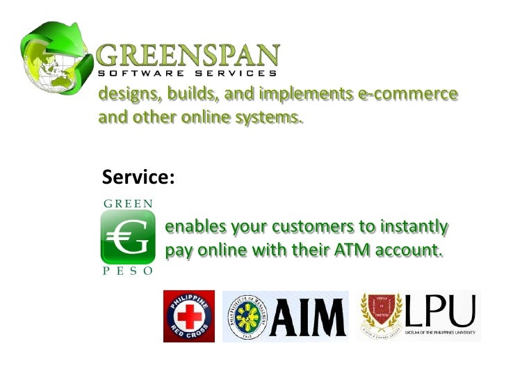 designs, builds, and implements e-commerceand other online systems.Service:       enables your customers to instantly     ...