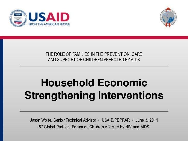 Household Economic Strengthening Interventions