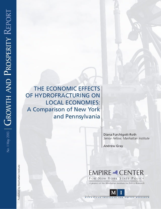 The Economic Effects of Hydrofracturing on Local Economies: A Comparison of New York and Pennsylvania