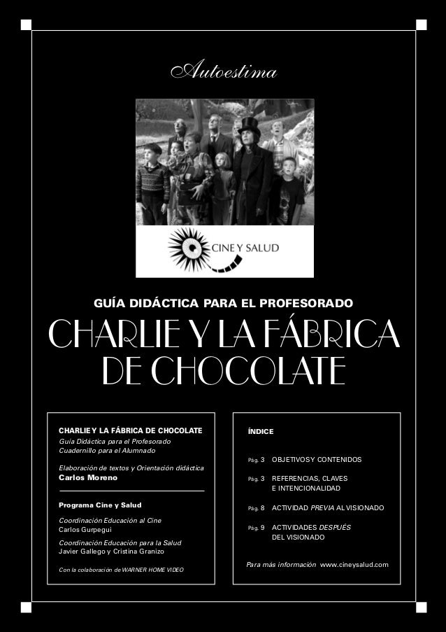 GProfe • CHARLIE OK   25/9/06   19:51   Página 1                                                    Autoestima            ...