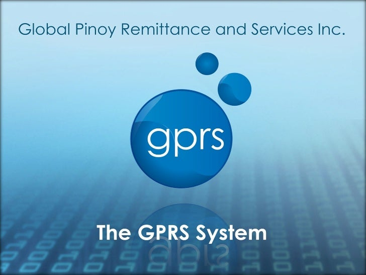 GPRS LOCAL FRANCHISE PACKAGE PRESENTATION by GPRS GLOBAL PINOY REMITTANCE SERVCIES - NEGOSYO ONLINE BUSINESS PHILIPPINES