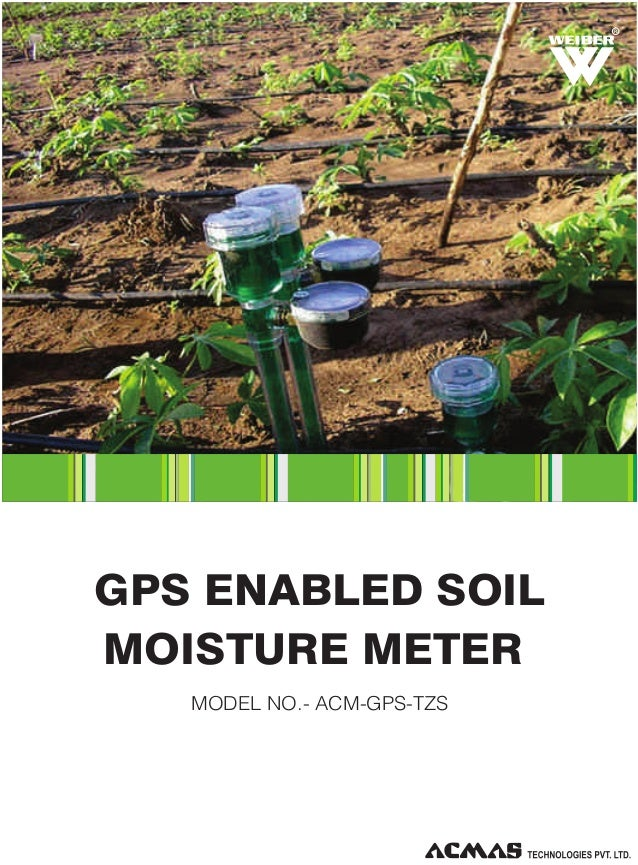 GPS Enabled Soil Moisture Meter by ACMAS Technologies Pvt Ltd.