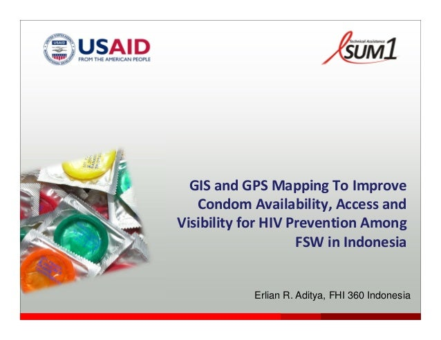 GPS Mapping to Improve Condom Access for MARPs