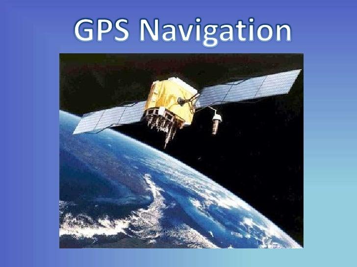 GPS Navigation<br />