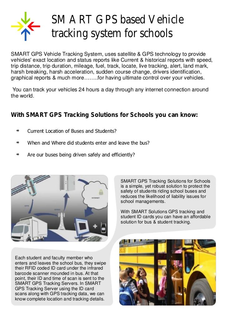 SMART GPS based Vehicle                   tracking system for schoolsSMART GPS Vehicle Tracking System, uses satellite & G...
