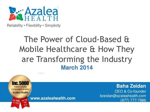 Gpt power of cloud & mhealth 031914
