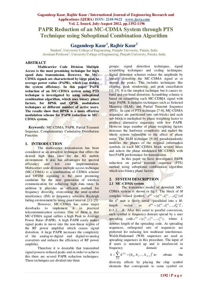 Gagandeep Kaur, Rajbir Kaur / International Journal of Engineering Research and                   Applications (IJERA) ISS...