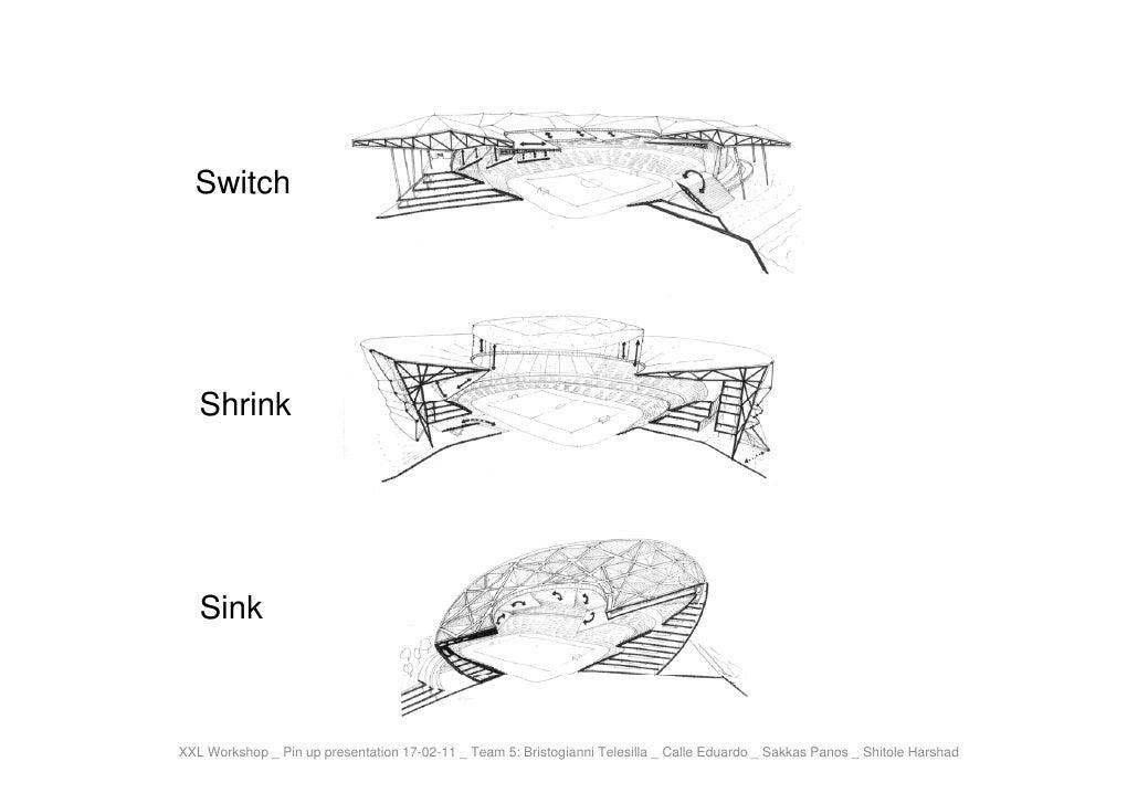 Switch   Shrink   SinkXXL Workshop _ Pin up presentation 17-02-11 _ Team 5: Bristogianni Telesilla _ Calle Eduardo _ Sakka...