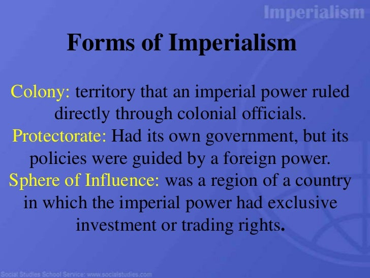 the consequences of western imperialism Bob maier imperialism: political, economic, & social consequences economic and social consequences of racism and the in the western capitalism destroyed.
