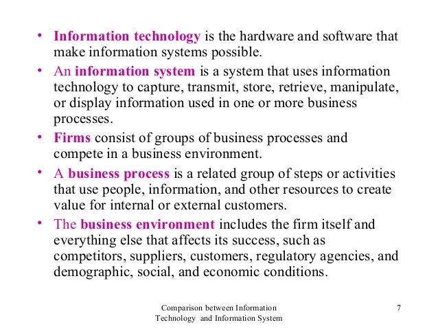 information systems technology 2 essay View this essay on information systems & information technology in terms of the company's factors for success the greater opportunities is to move into the.