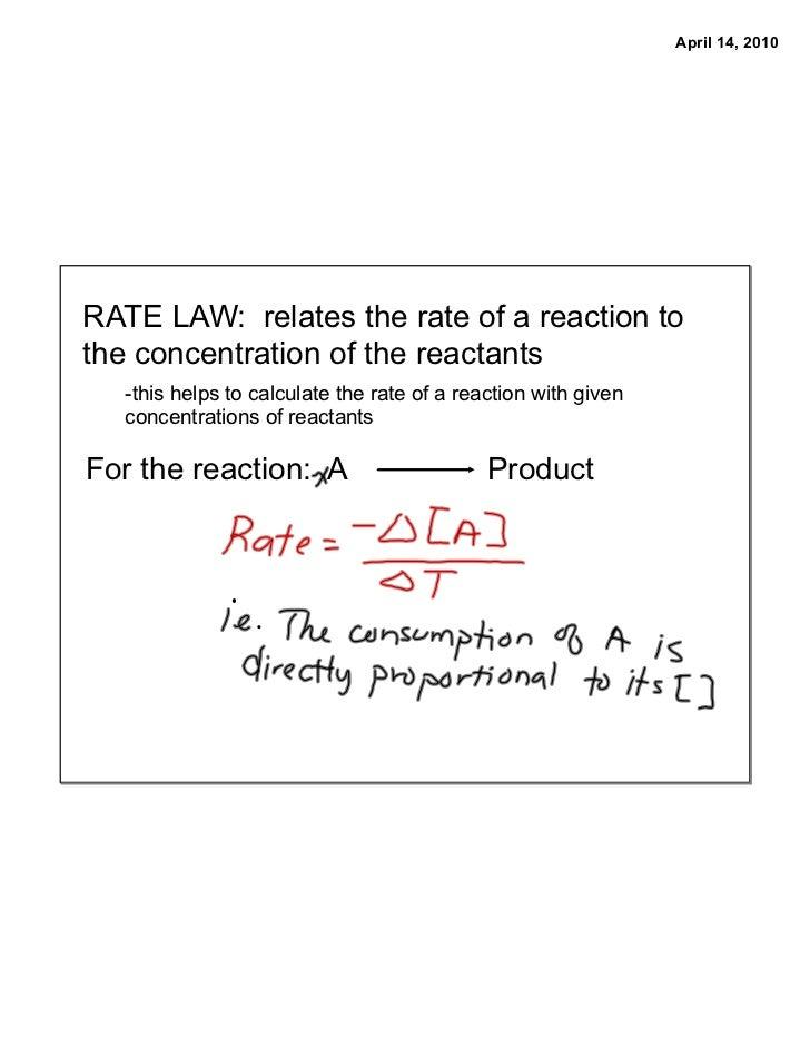 Gr12 apr14 rate law