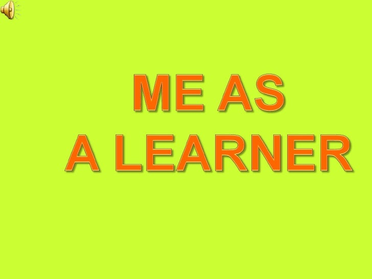 Gr6 Me As A Learner