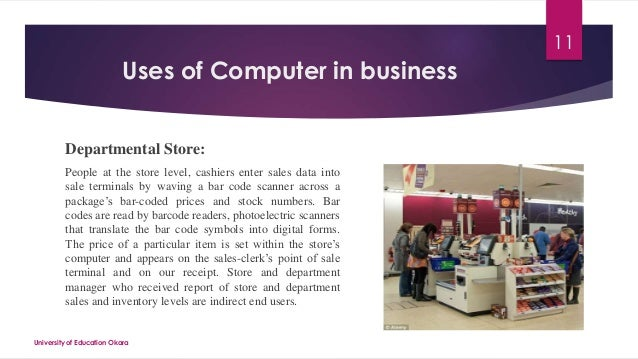 the use of computers in business In today's business climate, competitors may be as close as the next website or email message one way to gain a competitive advantage is to.