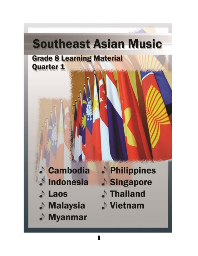 GRADE 8 MUSIC AND ARTS 1st to 4th Quarter
