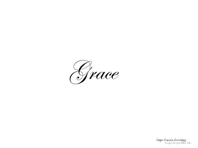 Grace - Celebrating a Life Lived Well