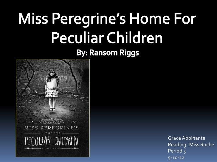 Grace abbinante miss peregrine's home for peculiar children