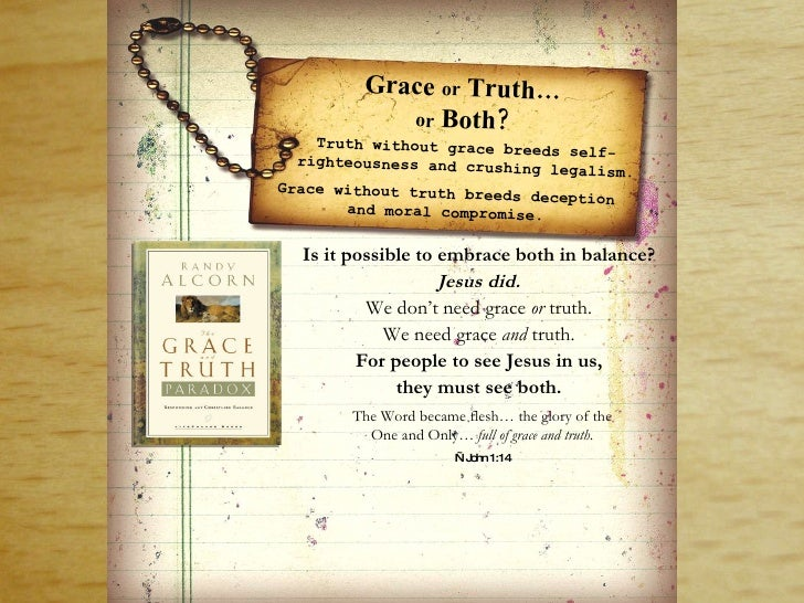 Grace and truth_powerpoint