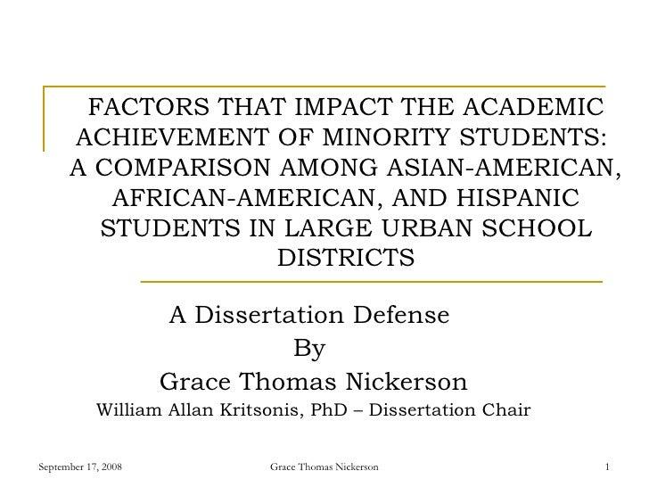 Dr. Grace Thomas Nickerson, PhD Dissertation Defense, Dr. William Allan Kritsonis, Dissertation Chair