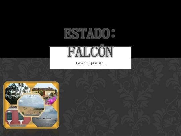 ESTADO: FALCÓN Grace Ospina #31
