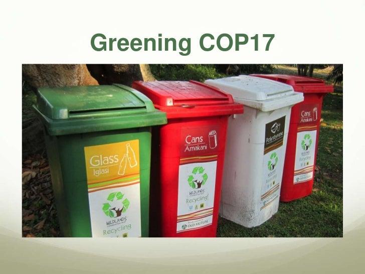 Greening COP17