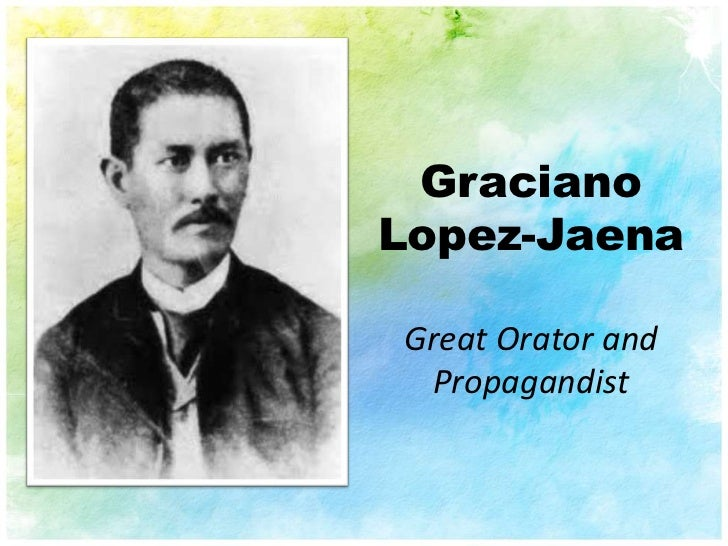 What Are the Writings of Graciano Lopez Jaena?