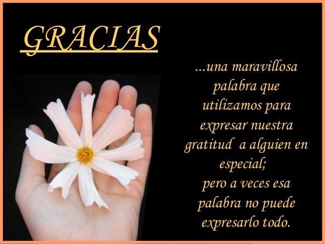 sonialilianafio@yahoo.com.ar GRACIAS ...una maravillosa palabra que utilizamos para expresar nuestra gratitud a alguien en...