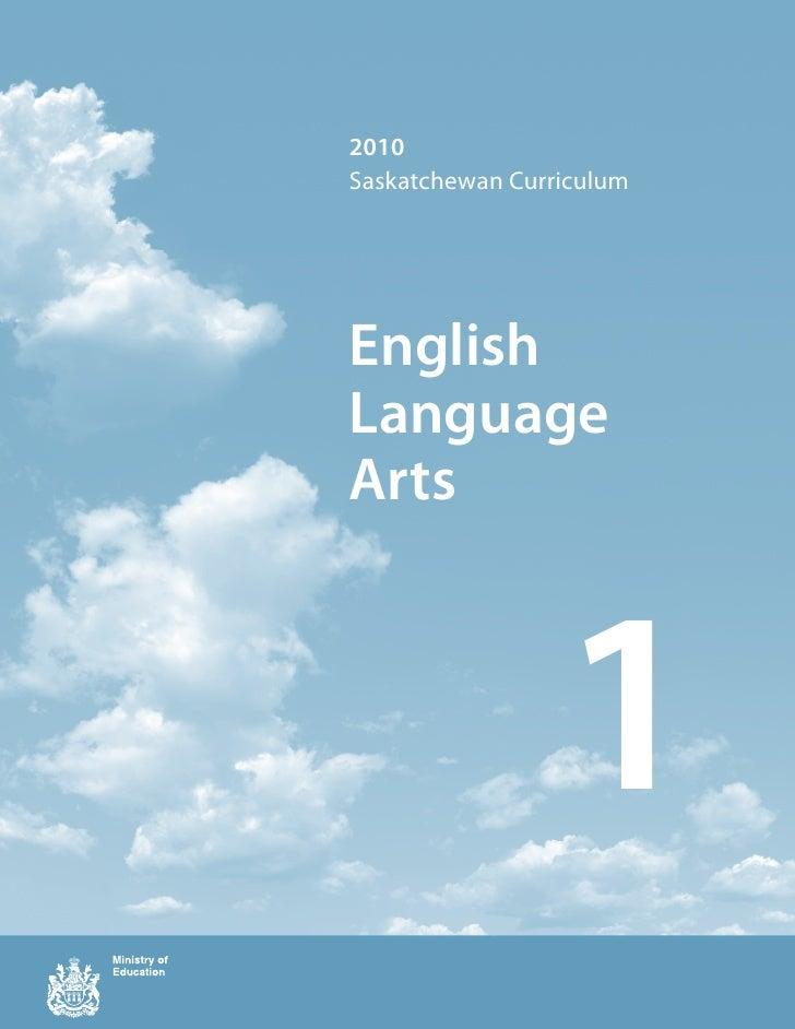 Grade 1 ELA  curriculum