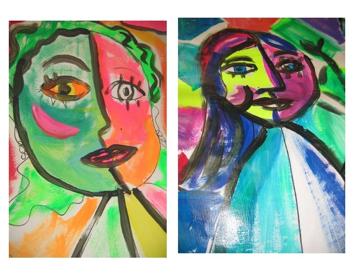 Picasso Self Portraits For Kids � every child is an artist.