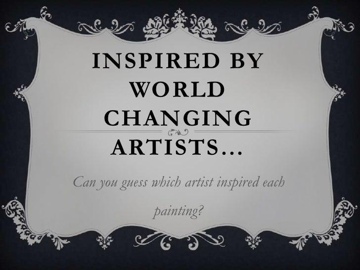 Grade 3 Artists