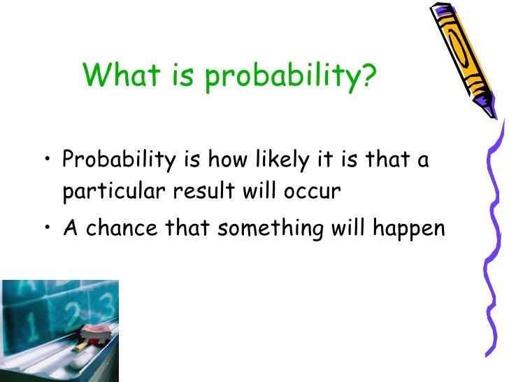 math odds