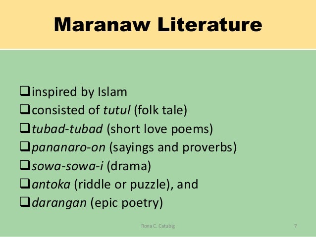 forms literature during pre spanish period I pre-colonial period – consisted of early filipino literature passed down orally   of a huge cultural influence – literature as a cultural tradition, than a form of art  that  philippine literature and art during the spanish period.